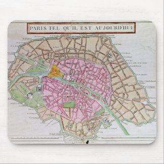 Map of Paris, June 1800 Mouse Mat