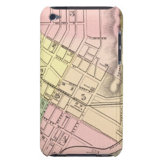 Map of Parkersburg, West Virginia Case-Mate iPod Touch Case