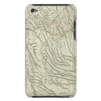 Map Of Pennsylvania 2 iPod Touch Case