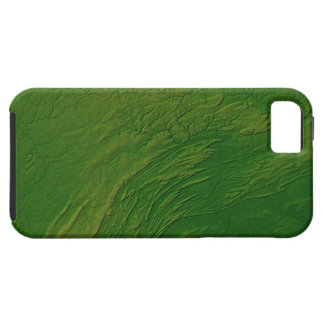 Map of Pennsylvania iPhone 5 Covers