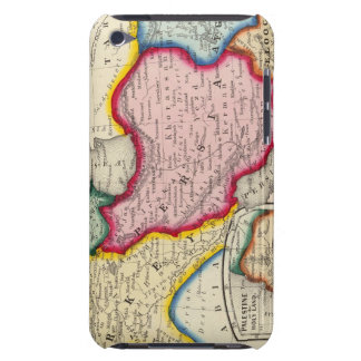 Map of Persia, Turkey In Asia Afghanistan iPod Touch Cases