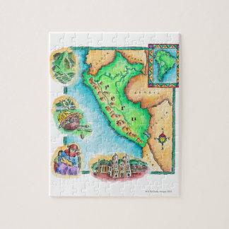 Map of Peru Jigsaw Puzzle