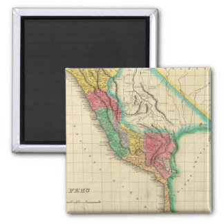 Map Of Peru Magnet