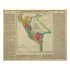 Map Of Peru Poster