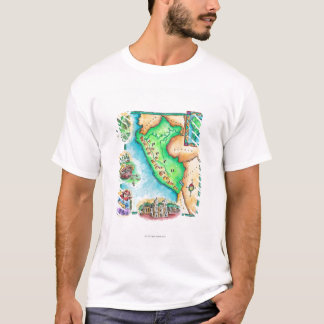 Map of Peru T-Shirt