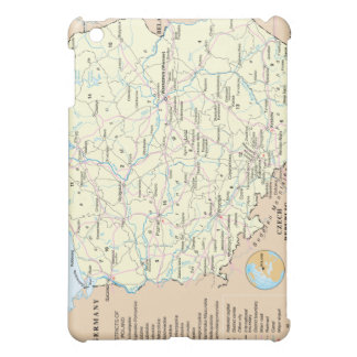 Map of Poland ® Fitted™Hard Shell  iPad Mini Cover
