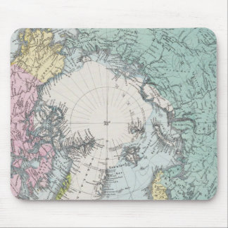 Map of Polar Seas Mouse Mat