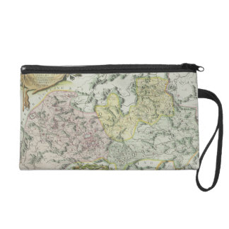 Map of Provinces in China Wristlet