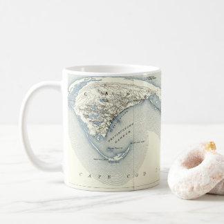 Map of Provincetown Cape Cod Massachusetts Coffee Mug