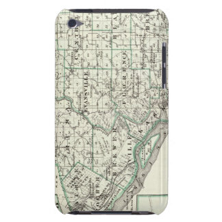 Map of Randolph County, Red Bud and Chester Barely There iPod Cover
