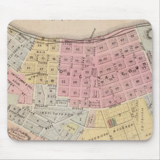 Map of Red Wing, Goodhue County, Minnesota Mouse Mat