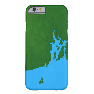 Map of Rhode Island Barely There iPhone 6 Case