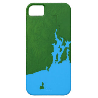 Map of Rhode Island iPhone 5 Covers