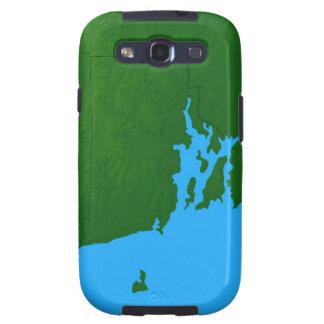 Map of Rhode Island Samsung Galaxy S3 Case