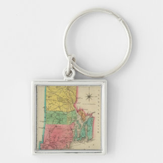 Map Of Rhode Island Key Ring