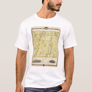 Map of Ringgold County, State of Iowa T-Shirt