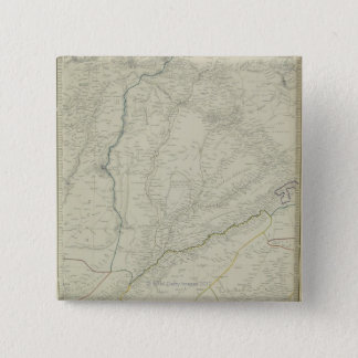 Map of River Systems 15 Cm Square Badge