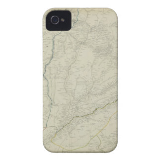 Map of River Systems iPhone 4 Case