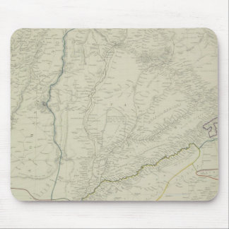 Map of River Systems Mouse Mat