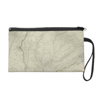 Map of River Systems Wristlet