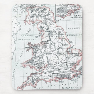 Map of Roman Britain 400AD Mouse Pad