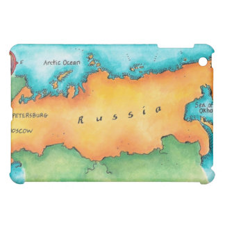 Map of Russia iPad Mini Cover