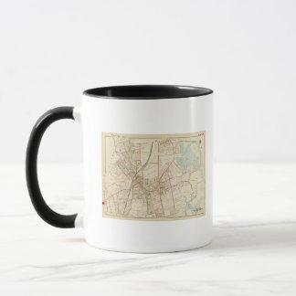Map of Rye, New York Mug