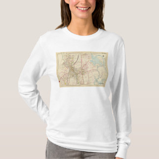 Map of Rye, New York T-Shirt