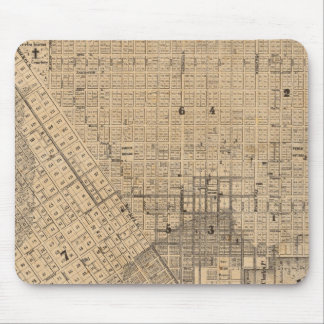 Map of San Francisco Mouse Pad