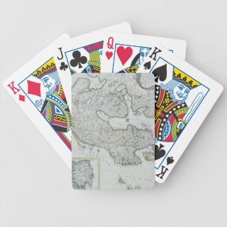 Map of Scandinavia Bicycle Playing Cards