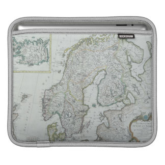 Map of Scandinavia iPad Sleeve
