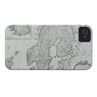 Map of Scandinavia iPhone 4 Cover