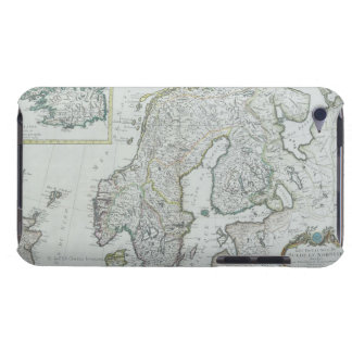 Map of Scandinavia iPod Touch Covers