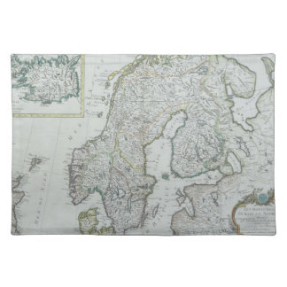 Map of Scandinavia Placemat