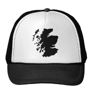 Map of Scotland Cap