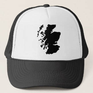 Map of Scotland Trucker Hat