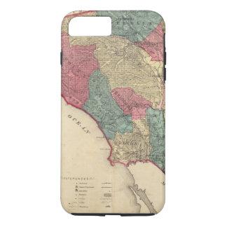 Map of Sonoma County California iPhone 8 Plus/7 Plus Case