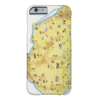 Map of South Africa 2 Barely There iPhone 6 Case
