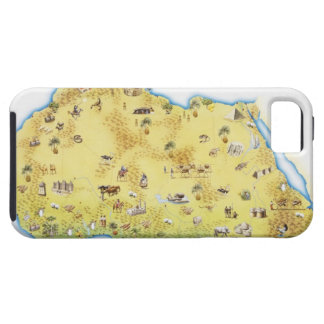 Map of South Africa 2 Tough iPhone 5 Case