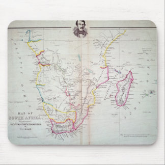 Map of South Africa illustrating Mouse Mat