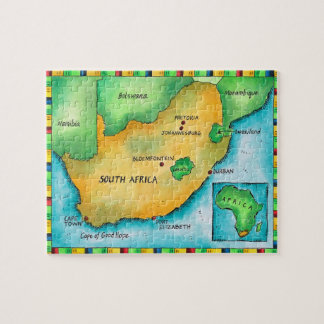 Map of South Africa Puzzle