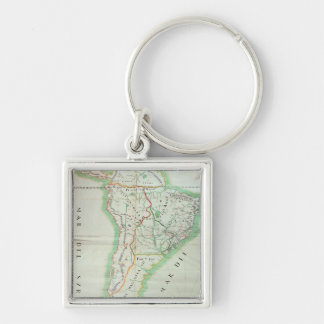 Map of South America, 1777 Key Ring