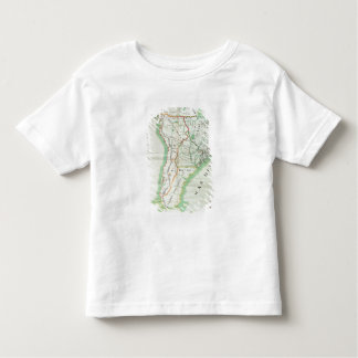 Map of South America, 1777 Toddler T-Shirt