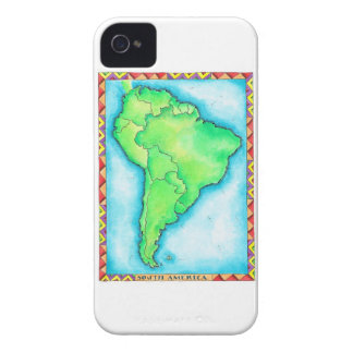 Map of South America 2 Case-Mate iPhone 4 Case