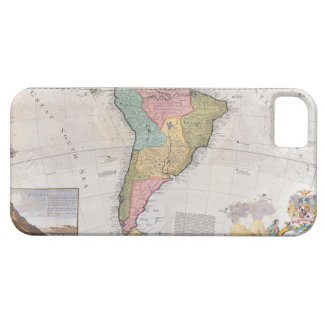 Map of South America 3 iPhone 5 Covers
