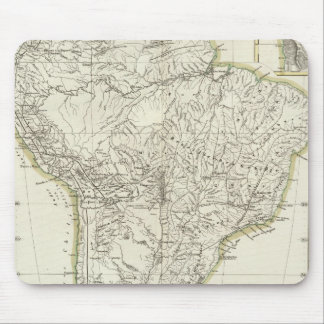 Map of South America 3 Mouse Mat
