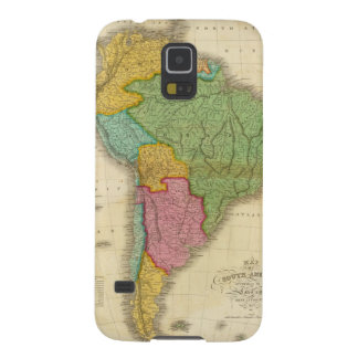 Map of South America 4 Case For Galaxy S5