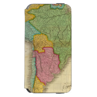 Map of South America 4 Incipio Watson™ iPhone 6 Wallet Case