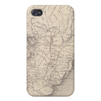 Map of South America 4 iPhone 4 Covers