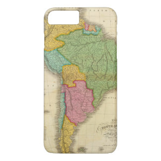 Map of South America 4 iPhone 7 Plus Case